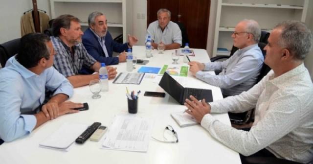 Rossi participó de una reunión con el ministro de Salud bonaerense